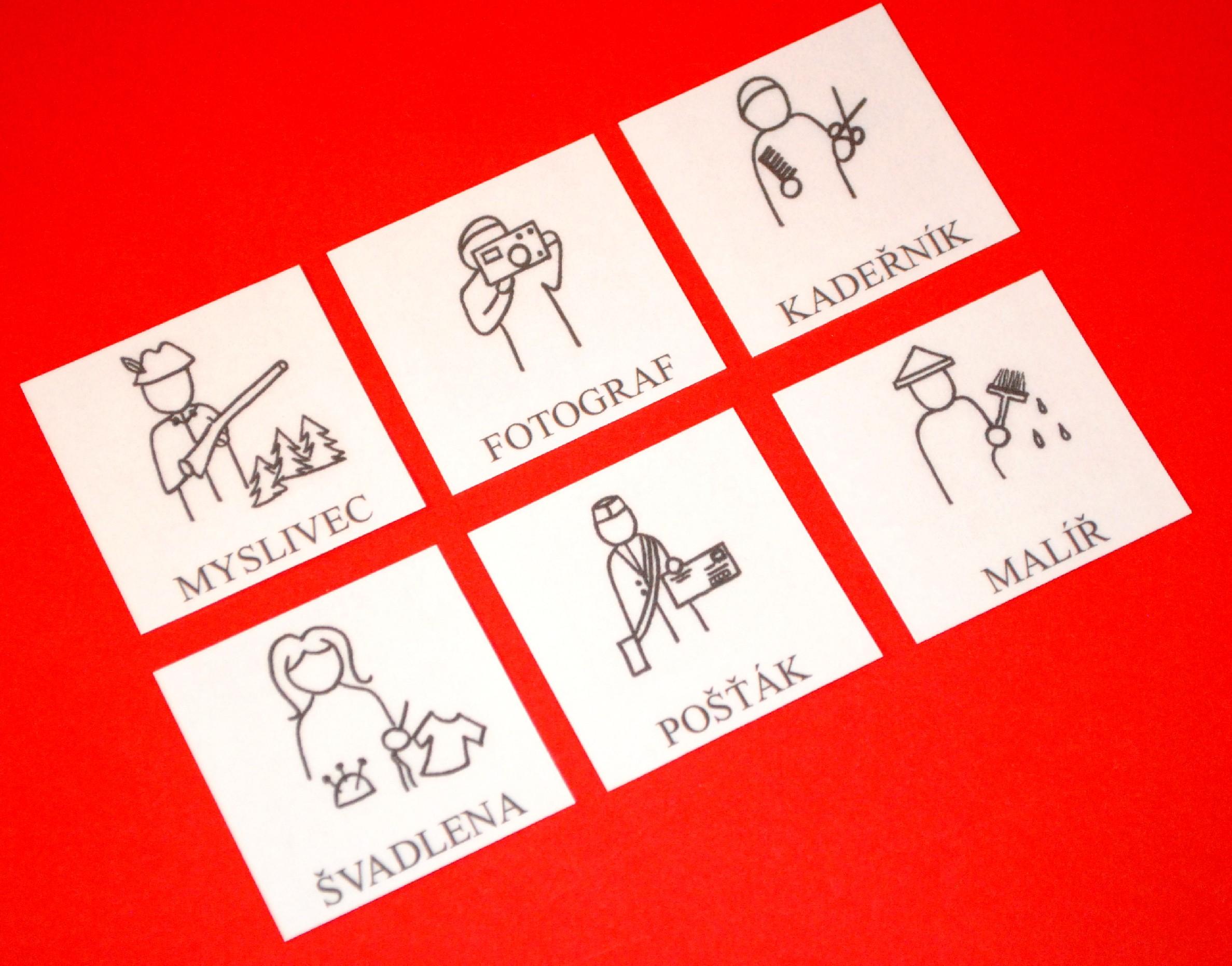 Naučné karty POVOLÁNÍ 2